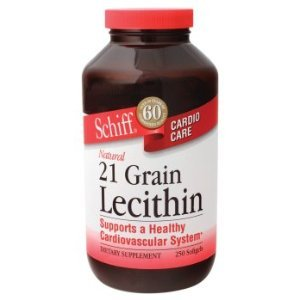 Schiff Products - 21 Grain Lecithin, 250 softgels