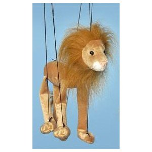 Jungle Animal (Lion) Small Marionette from Sunny Puppets