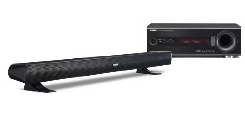 YAMAHA YHTS400 HOME CINEMA PACKAGE (SR300 SUBWOOFER INTEGRATED RECEIVER  &  NSBR300 SPEAKER)