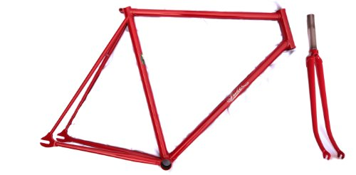 IRIDE - Track Bicycle Frame and Fork: Hand Made Italian Lugged Columbus Niobium Steel Alloy - CICLI IRIDE - Handmade in Italy since 1919. Lightweight and high performance. Track bike, Pista, fixed gear, or fixie. Velodrome, urban, or pavement. Sustainable, artisanal, hand crafted.