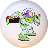 Buzz Lightyear Toy Story Drawer Pull Knob