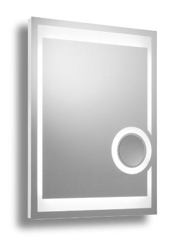 badspiegel mit beleuchtung 80 x 60 cm. Black Bedroom Furniture Sets. Home Design Ideas