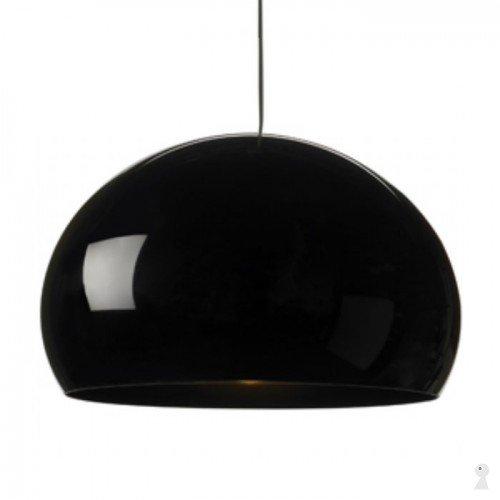 Kartell Fly Ceiling Suspension Light Solid Black