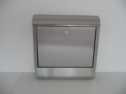 point-home Postbox Letter Box Newspaper Holder Stainless Steel