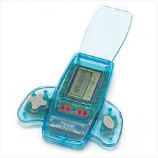 Pocket Game Player - Clear Blue Case - 11 Different Games! - 1