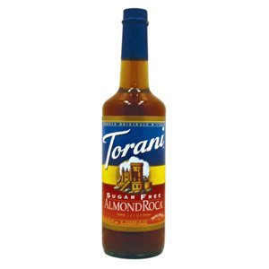Torani Sugar Free Almond Roca Syrup, 750 ml