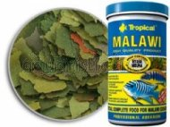 Tropical Malawi Mbuna Cichlids special flake vegetable high-protein fish food for daily feeding - 1200ml/220g