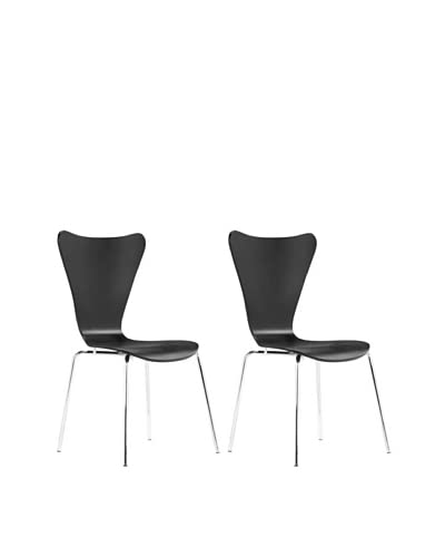 Zuo Set of 2 Taffy Dining Chairs