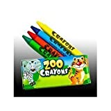 12 Boxes of Crayons Zoo Animal Box 4 Per Box