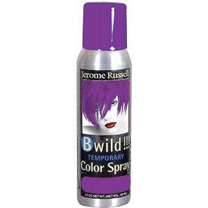 JEROME RUSSELL B Wild Temporary Color Spray Purple Panther 3.5 oz