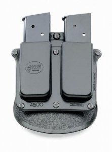 Concealed Carry Light Fobus Magazine Pouches Roto-Holster Springfield 1911 9mm Single Mag Belt HandGun & Pistol Tactical Hard Polymer