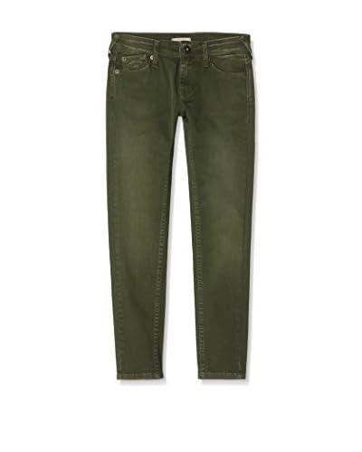 Pepe Jeans London Pantalón Snake Verde Oscuro
