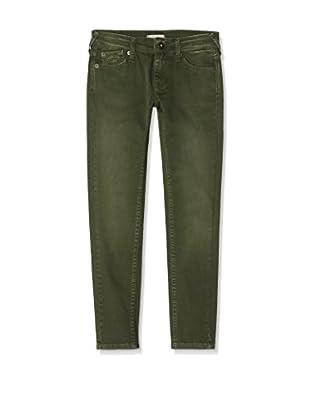 Pepe Jeans London Pantalón Snake (Verde Oscuro)