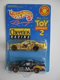 TOY Story 2 - Hot Wheels - Cheerios Racing set