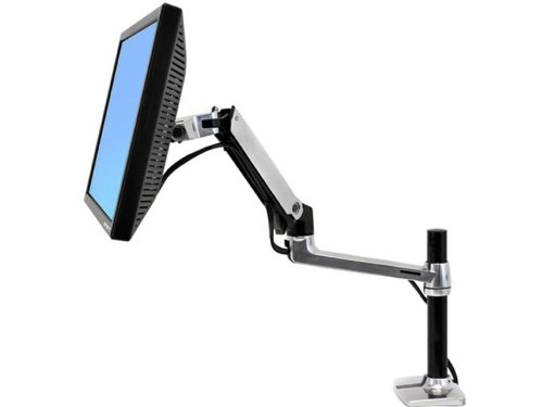 The Best Lx Desk Mount Lcd Arm, Tall Pole (Polished Aluminum) Includes Lx Arm, Tall Pol