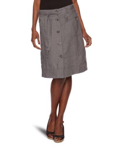 Jackpot Alodis A-Line Women's Skirt Stone Grey