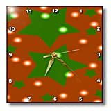 Christmas Starry Night - 10x10 Wall Clock