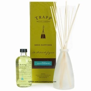 Trapp Private Gardens Bob's Flower Shop Reed Diffuser Kit
