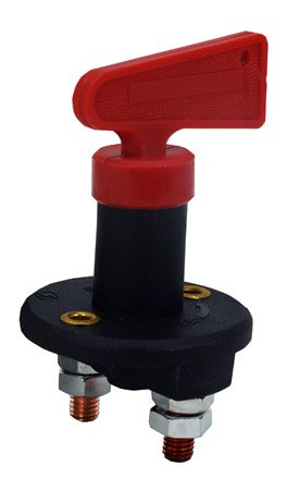 Battery Disconnect Cut-Off Kill Switch 12 Volt W/ Key