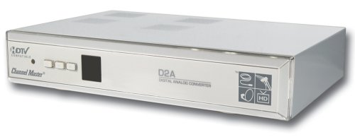 Channel Master CM-7000 Digital to Analog TV Converter Box with S-Video at Sears.com