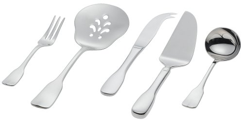 Ginkgo Alsace Silver Plated 20-Piece Place Setting, Service for Four