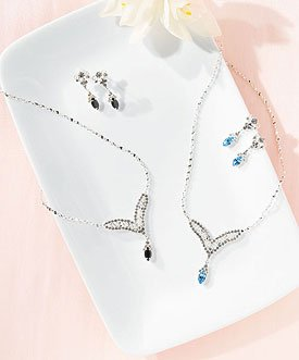 Random Marquise Cubic Zirconia Jewelry - Earrings