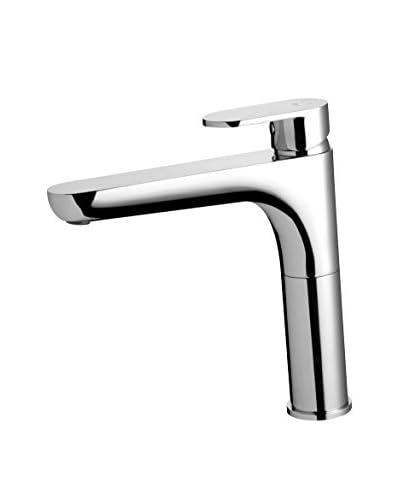 Bisk Wasserhahn Natura Single Lever High Neck Kitchen Sink chrom 40x23.5x6 cm