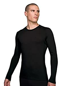 Icebreaker Men's Oasis Crewe T-shirt, Black, X-Large