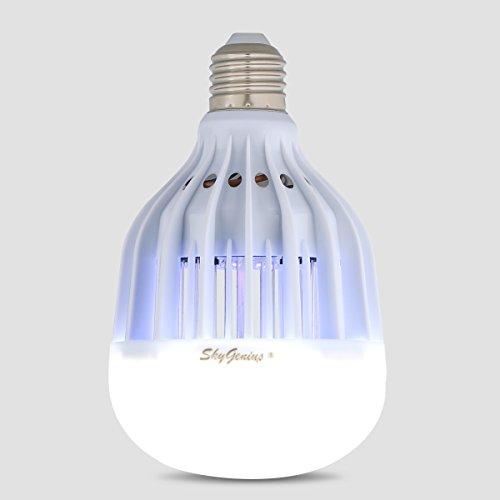 led bug zapper light bulb bug killer for outdoor porch patio back yard. Black Bedroom Furniture Sets. Home Design Ideas