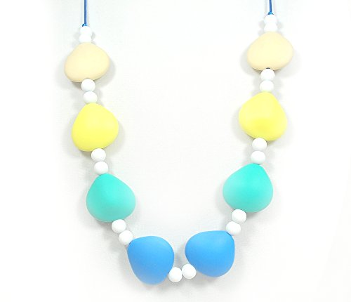 "Silli Me Jewels: ""Sunshine"" - Teething Necklace - Chewable Jewelry for Mom to Wear and Baby to Chew - 1"