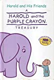 img - for Harold and the Purple Crayon Treasury (4 books in 1): Harold and the Giant Garden; Animals Animals Animals; The Birthday Present; and Harold Finds a Friend book / textbook / text book