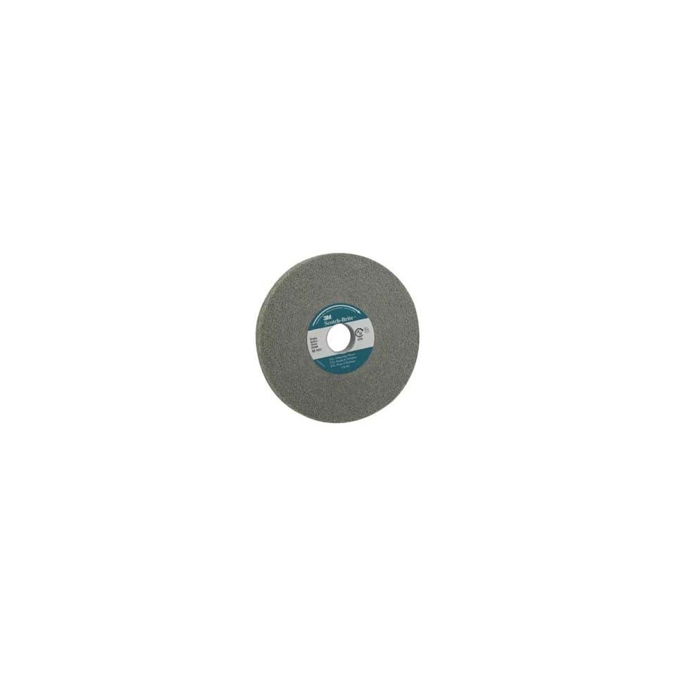 EXL Deburring Wheel TM Pack of 1 3M XL-WL Scotch-Brite 2550 rpm 8 Arbor Aluminum Oxide 14 Diameter x 2 Width 8A Medium Grit