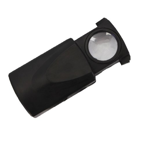 30 Magnification Pull-type-jewelry Magnifier with LED Light Source