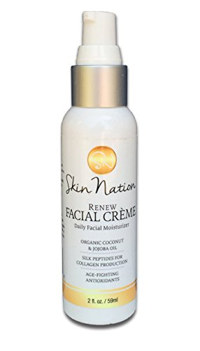 Renew-Facial-Creme-Daily-Facial-Moisturizer-with-Organic-Coconut-Jojoba-Oil-and-Dermatologist-Recommended-Peptides-as-Best-Anti-Aging-Ingredient-for-Skin