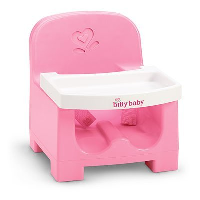 American Girl Furniture: Baby'S Booster Seat For Bitty Twin Or Bitty Baby Dolls