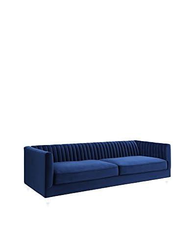 TOV Furniture Aviator Velvet Sofa