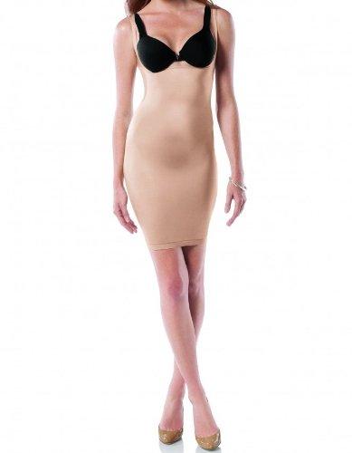 Spanx Womens Underwear Open-Bust Full Slip Nude A
