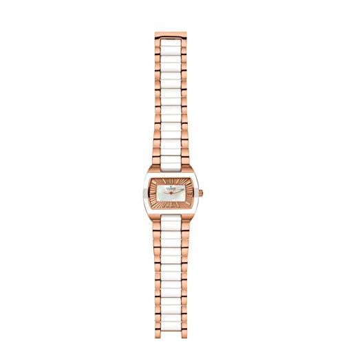 Charmex Corfu 6247 38.5x29mm Multicolor Steel Bracelet & Case Synthetic Sapphire Women's Watch