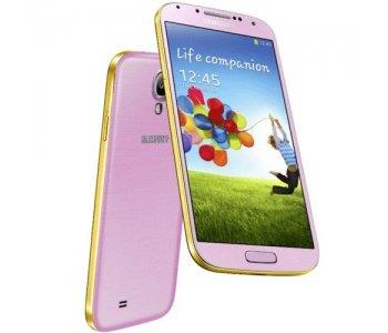 Samsung Galaxy S4 4G LTE i9505 SIMフリー 16GB ゴールデンピンク Gold Pink [並行輸入品]