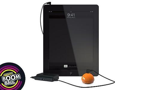 Mighty Boom Ball Orange Vibration Speaker promo