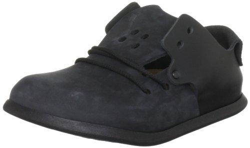 Birkenstock Montana Leather, Style-No. 299101, Unisex Loafer, Black/Jet Black, EU 44, normal width
