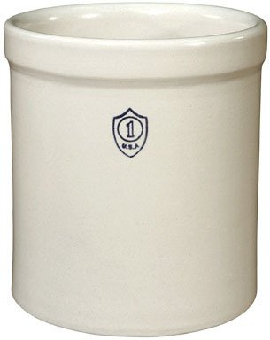 "Ohio Stoneware 1GC Crock 7-34/""x8-1/4″ – 1 Gallon"