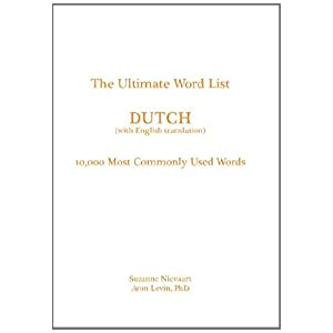 the ultimate word list   dutch  10000 most commonly used word  with english