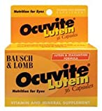 Bausch & Lomb Bausch And Lomb Ocuvite Lutein Eye Vitamin And Mineral Supplements -- 36 Ct.