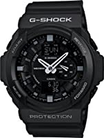 Casio GA150-1A G-Shock Military Black 3D Mens Watch from Casio