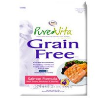 Pure Vita Grain Free Salmon & Peas Dog Food 5 lbs