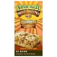 Nature Valley-Sweet & Salty Nut Granola Bars, Peanut, 30 ct