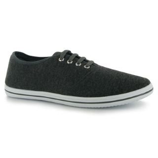 Propeller Mens Basic Canvas Shoes Charcoal 8 UK UK