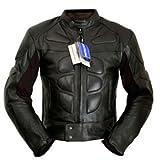 4LIMIT Sports Biker Rocker Herren Motorradjacke >>Streetbandit<< Lederjacke Motorrad Jacke