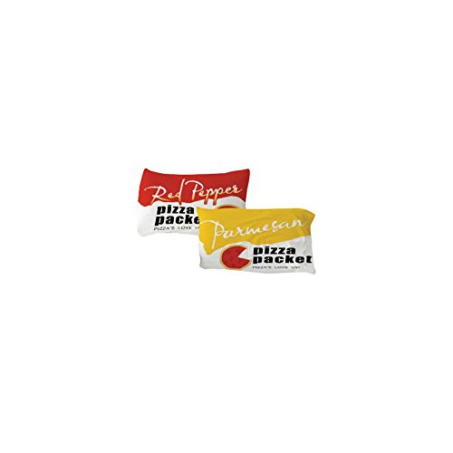 Red Pepper & Parmesan Pizza Packets Standard Pillow Shams - Set Of 2